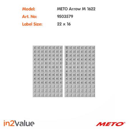METO Meto Arrow Prijsapparaat M 1622