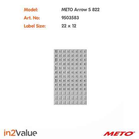 METO Arrow Prijsapparaat S 822