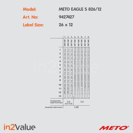 METO Meto Eagle Prijsapparaat, type S 826/12