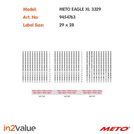 METO Meto Eagle Prijsapparaat, type XL 3329