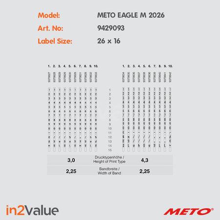 METO Eagle Prijsapparaat, type M 2026