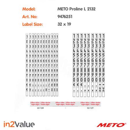 METO Meto ProLine Prijsapparaat, type L 2132