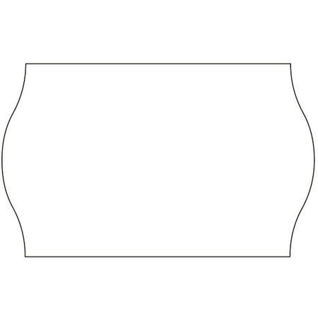 METO Meto HACCP Prijsetiketten wit 26x16mm  (6x1200 stuks)
