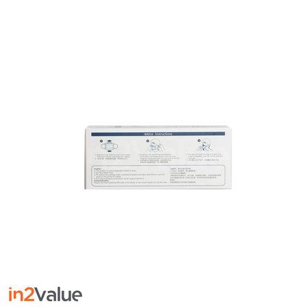In2Value Voordeelpakket 300 Stuks: Mondneusmaksers (3-laags)