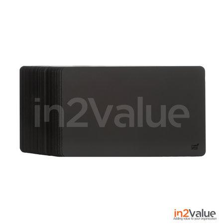 Bluecards Zwarte Composteerbare Prijskaart, 100% PVC-Vrij
