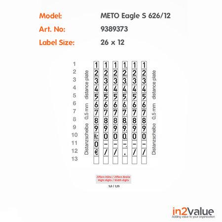 METO Meto Eagle Prijstang S 626/12