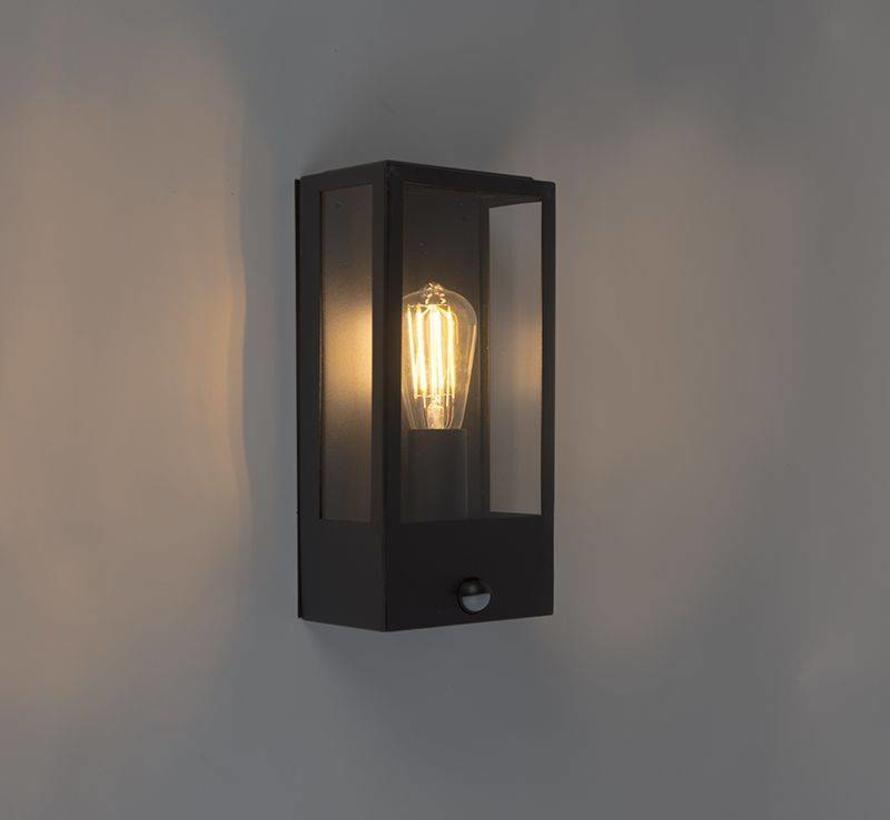 Industriële Wandlamp Buiten met bewegingsmelder – Rotterdam 1