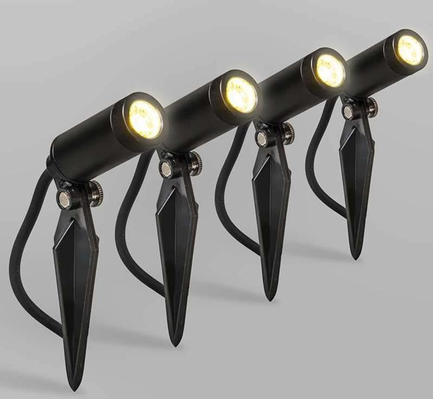 Buitenspots LED Garly 4 spots
