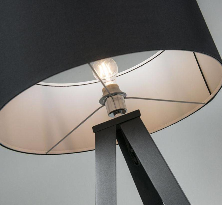 Vloerlamp Tripe Zwart