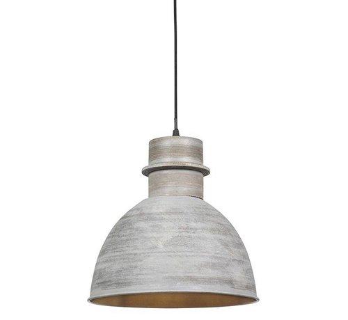 QAZQA Hanglamp Dory Grijs