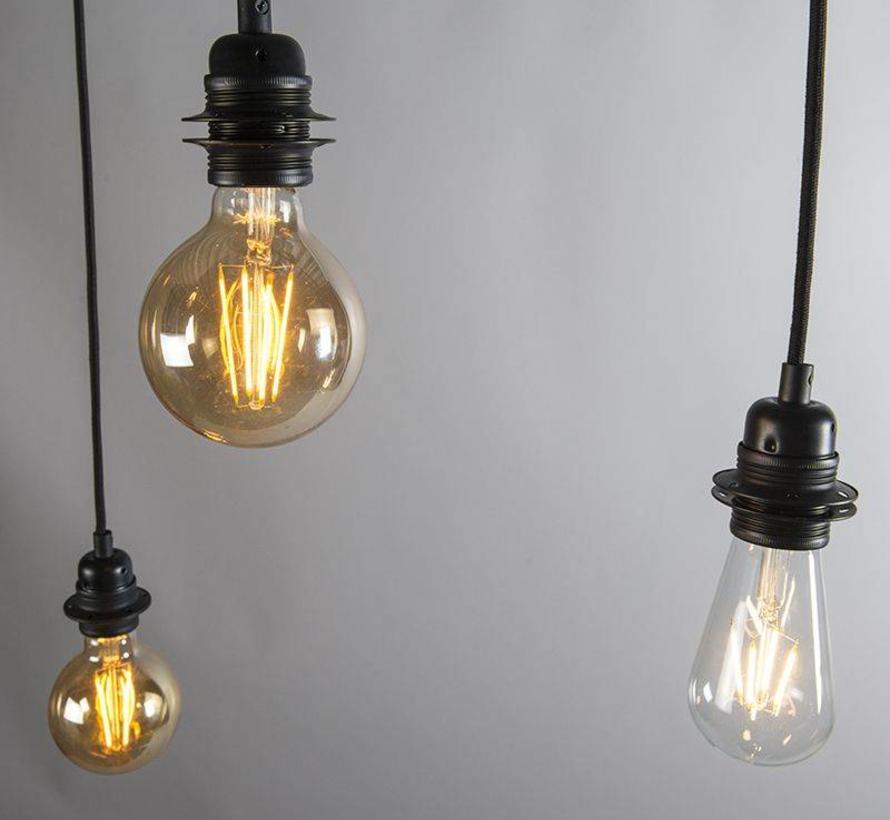 Hanglamp Cava 3 Zwart