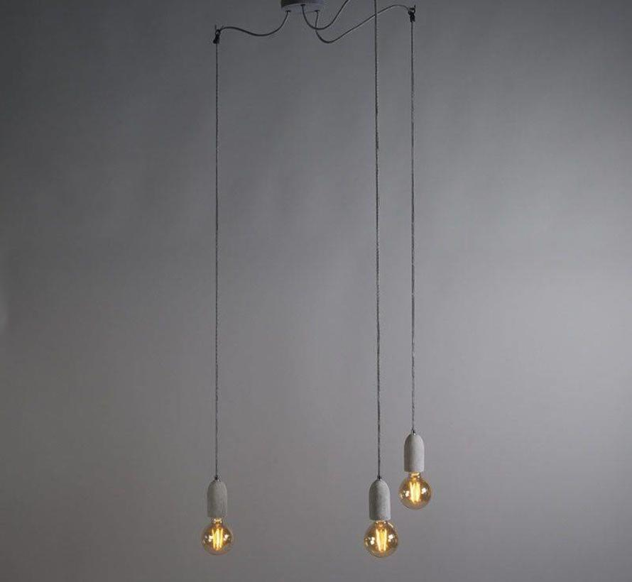 Hanglamp Cava 3 Beton