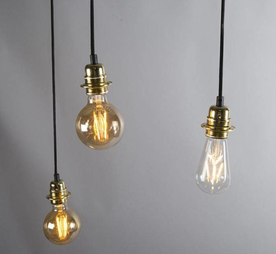 Hanglamp Cava 3 Goud