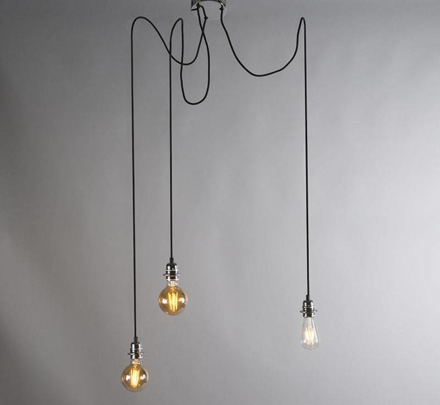 Hanglamp Cava 3 Chroom