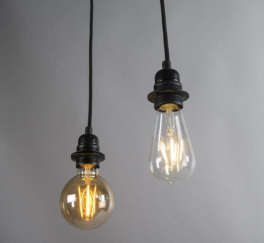 Hanglamp Cava 2 Zwart