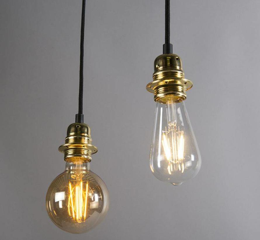 Hanglamp Cava 2 Goud
