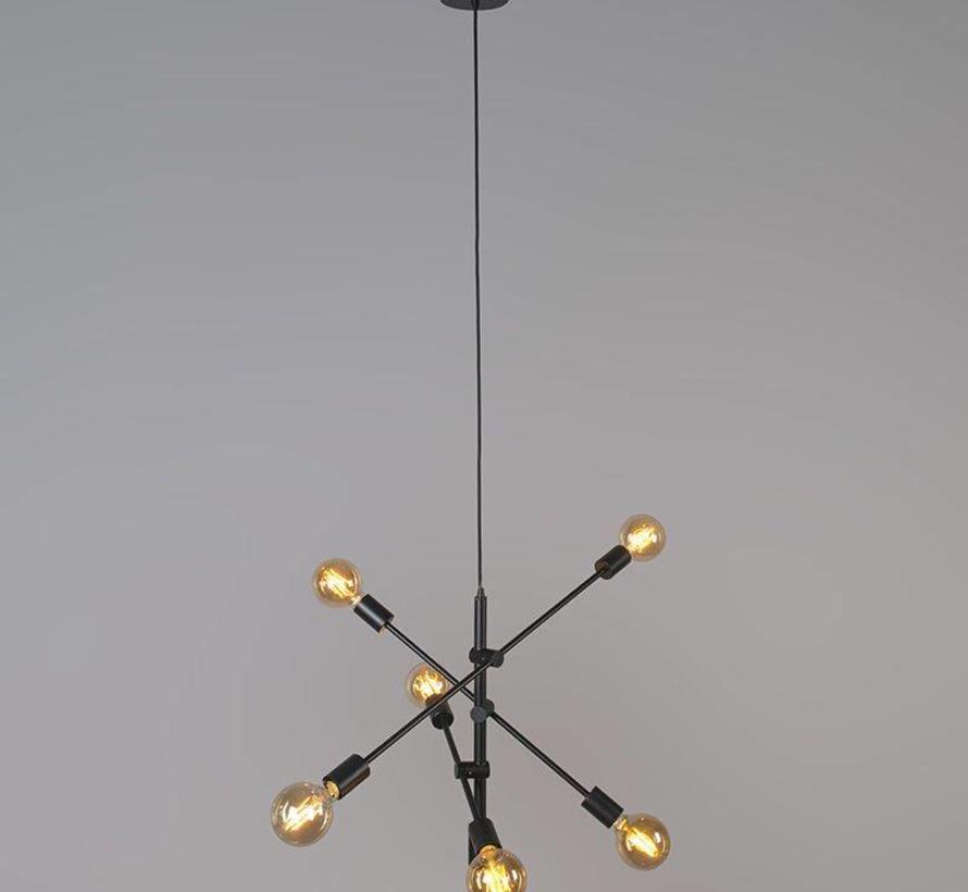 Hanglamp Sydney Vintage Zwart