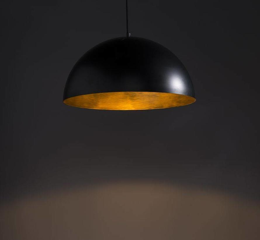 Hanglamp Magna Basic  Zwart / Goud 50cm