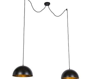 QAZQA Hanglamp Magna Basic Duo 35cm