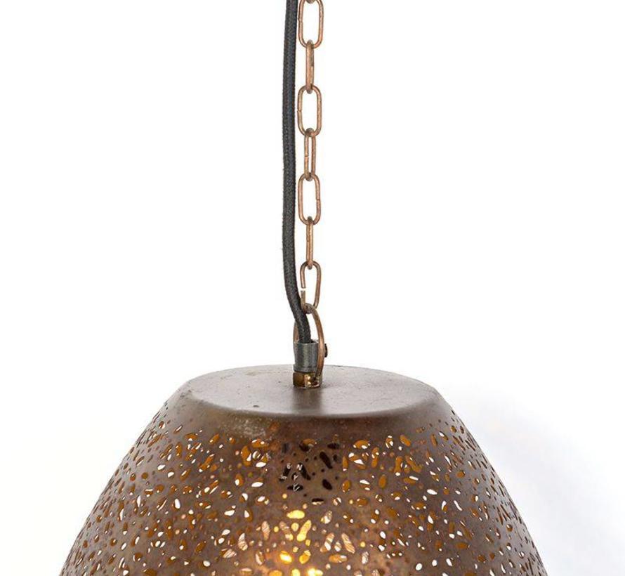 Hanglamp Vintage Maruf Ovaal Koper