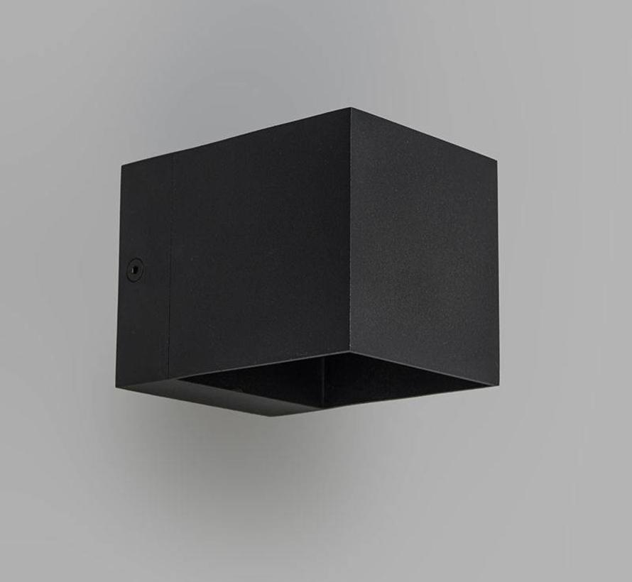 Wandlamp Fulton Zwart