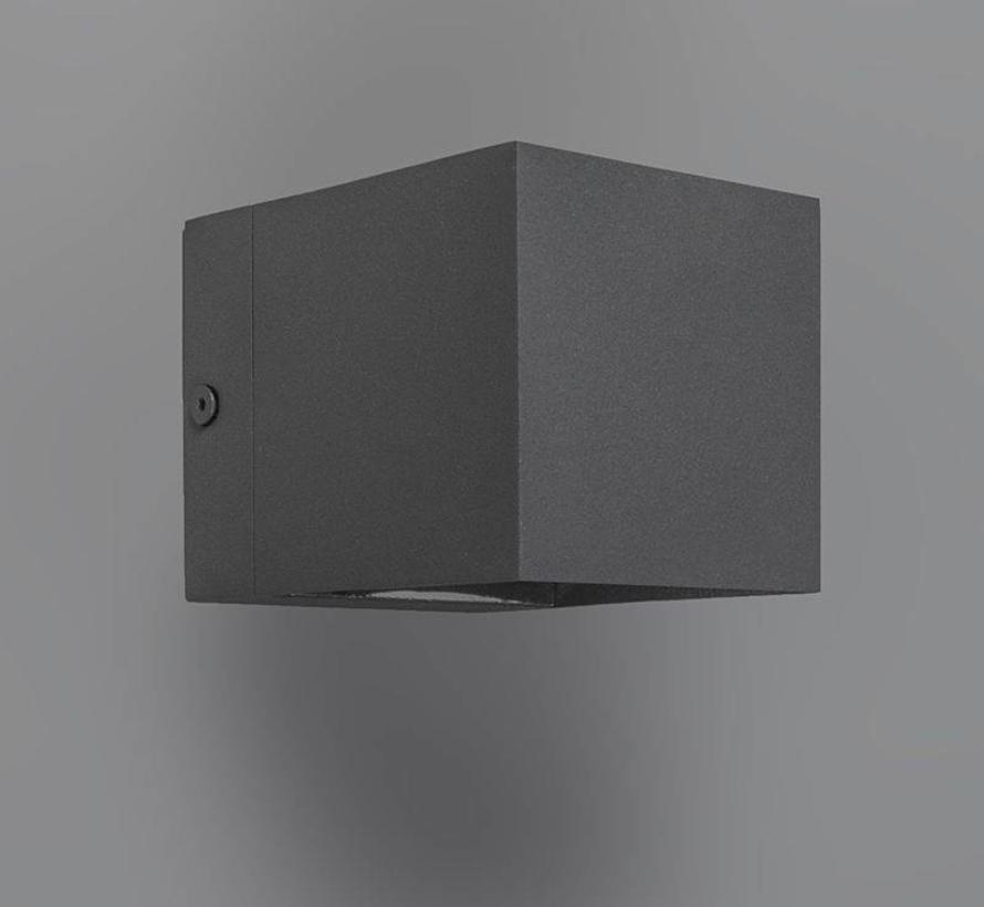 Wandlamp Fulton Antraciet