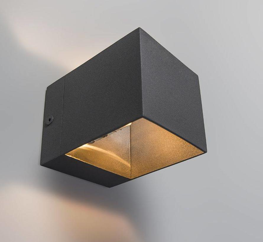 Wandlamp Transfer Antraciet