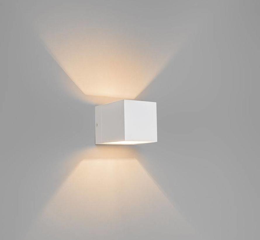Wandlamp Fulton Wit