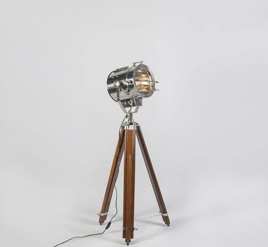 Vloerlamp Tripod Beam Chroom