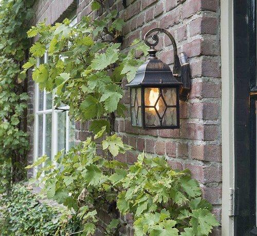 QAZQA Wandlamp Lantaarn Buiten Londen