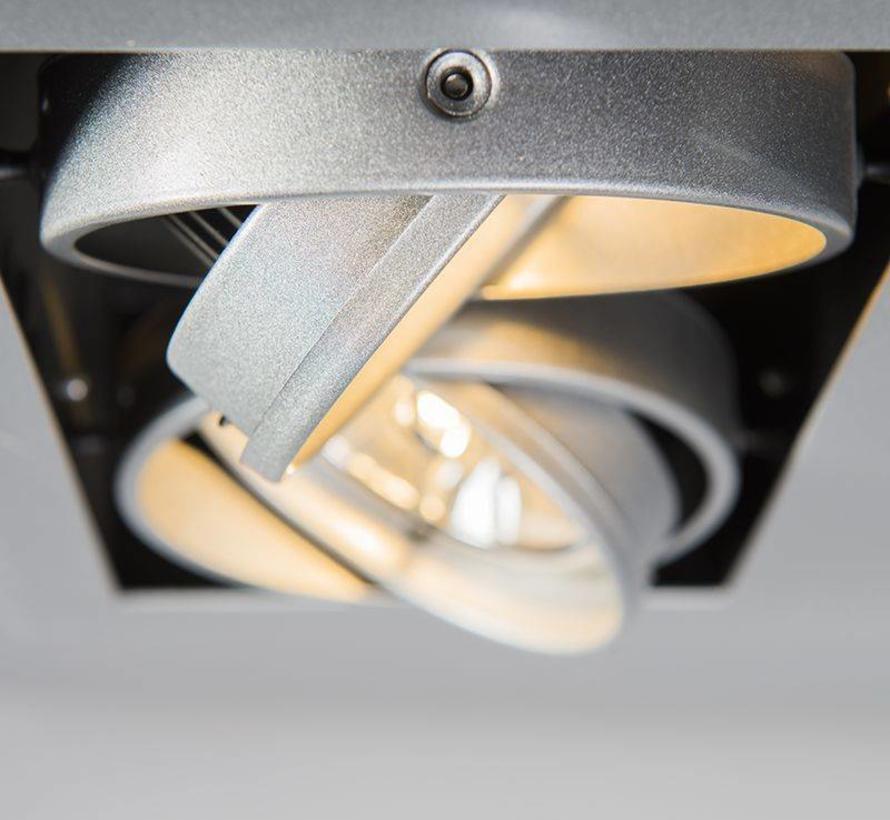 Inbouwspot Oneon 2 Zilver