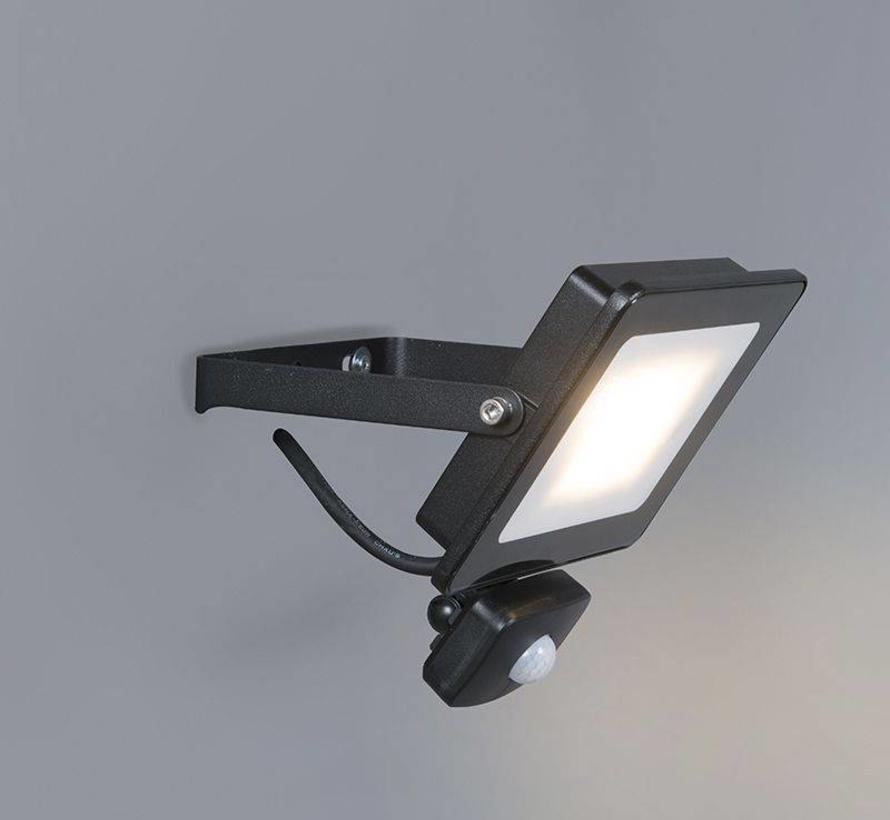 Floodlight LED 20W met Bewegingsensor