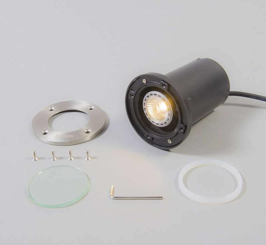 Grondspot inbouw Rond incl LED