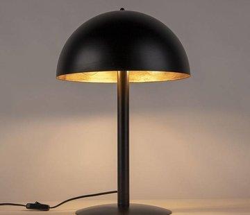QAZQA Tafellamp Magna Staand zwart