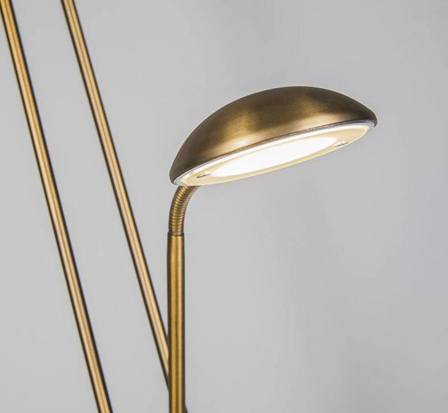 Vloerlamp Diva LED brons