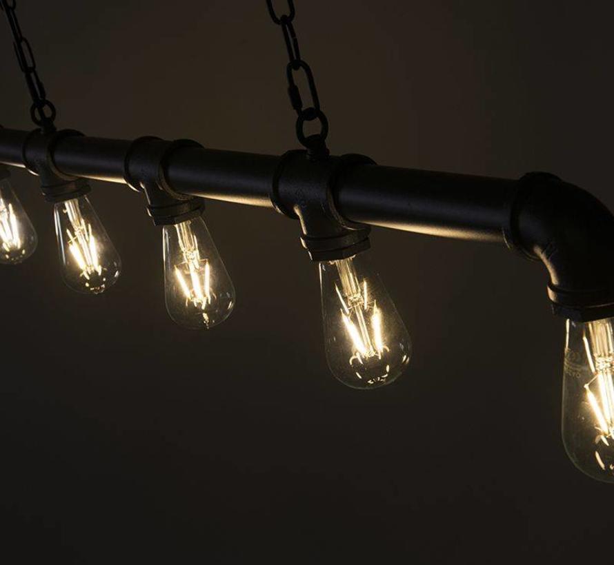 Hanglamp Plumber 5 Antraciet
