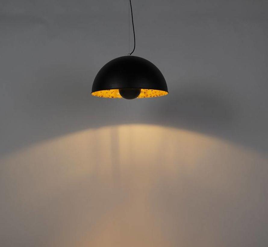 Hanglamp Magna 50 Zwart met Goud