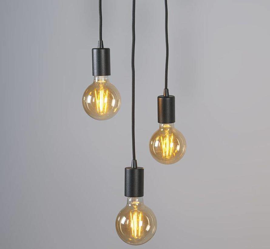 Hanglamp Facil 3 zwart