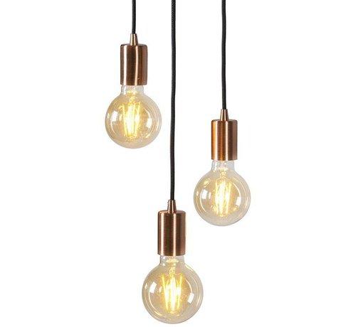 QAZQA Hanglamp Facil 3 Koper