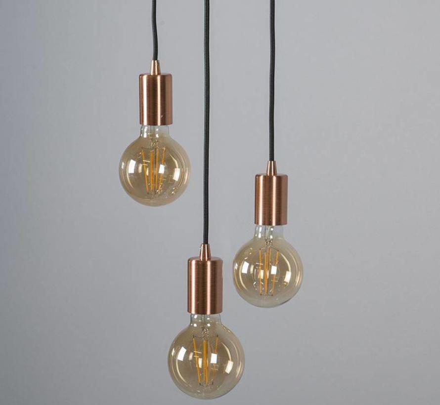 Hanglamp Facil 3 Koper