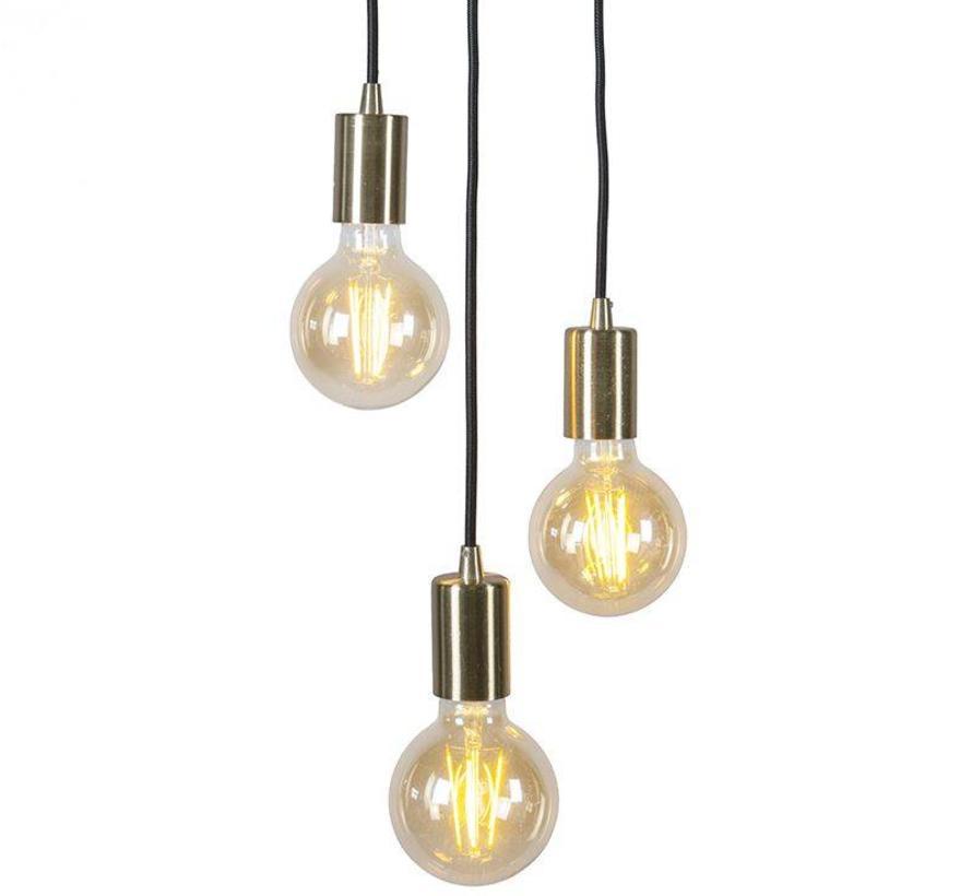 Hanglamp Facil 3 Goud