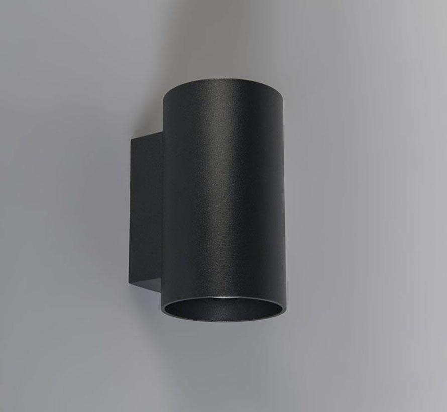 Wandlamp Sandy Rond Zwart