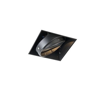 QAZQA Trimless inbouwspot Oneon 1 Zwart