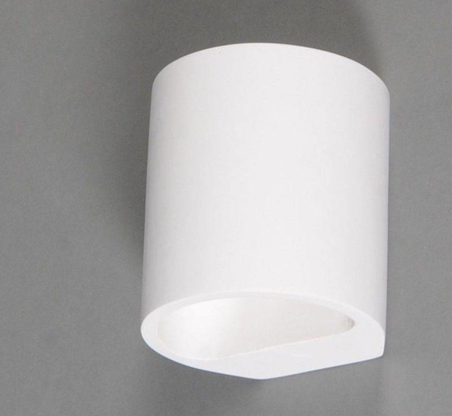 Wandlamp Gips Arles Ovaal