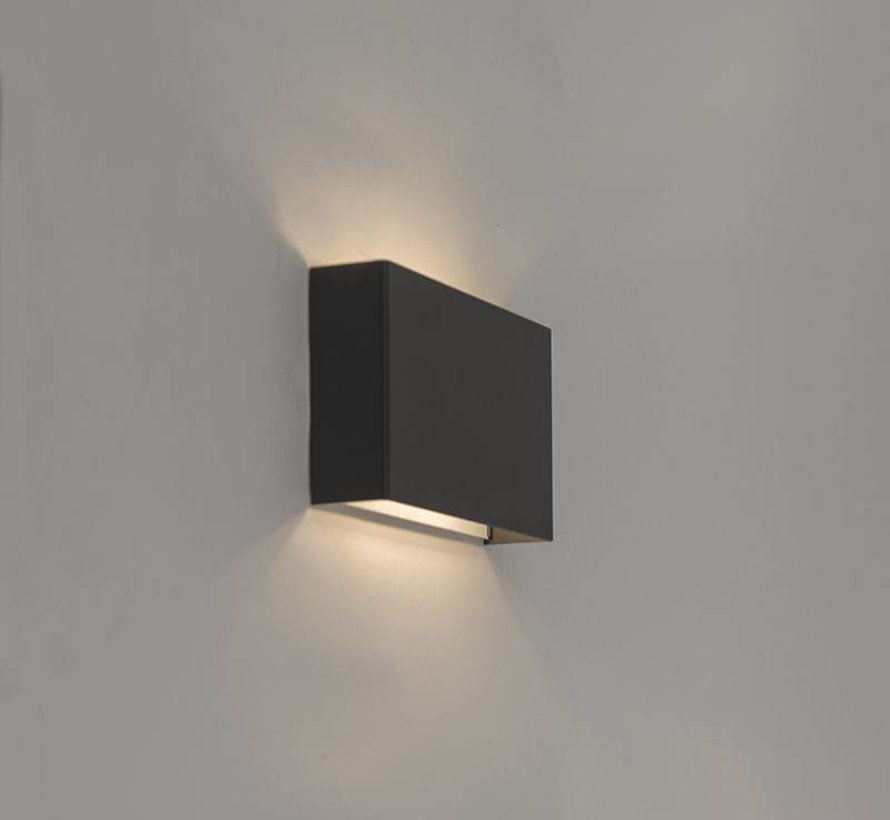 Wandlamp Otan Zwart