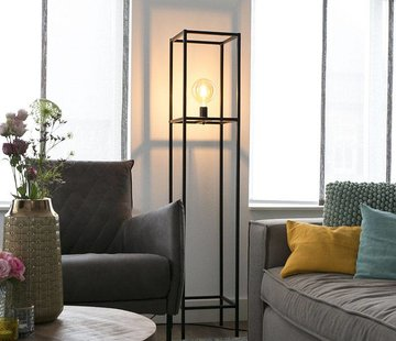 QAZQA Vloerlamp Big Cage