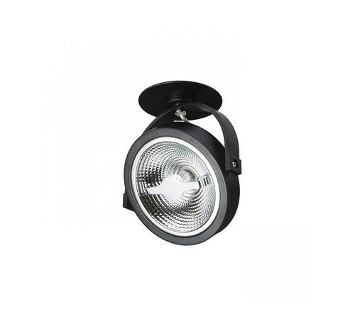 DMQ Inbouwspot Brooklyn LED 1-lichts zwart