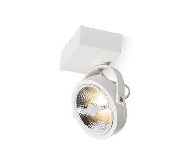 DMQ Opbouwspot Brooklyn 1-lichts wit