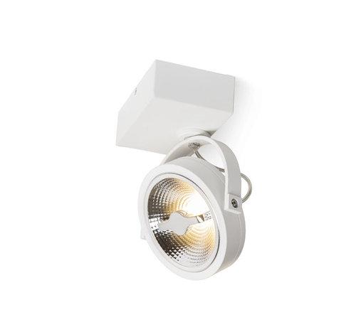 DMQ Opbouwspot Brooklyn LED 1-lichts wit