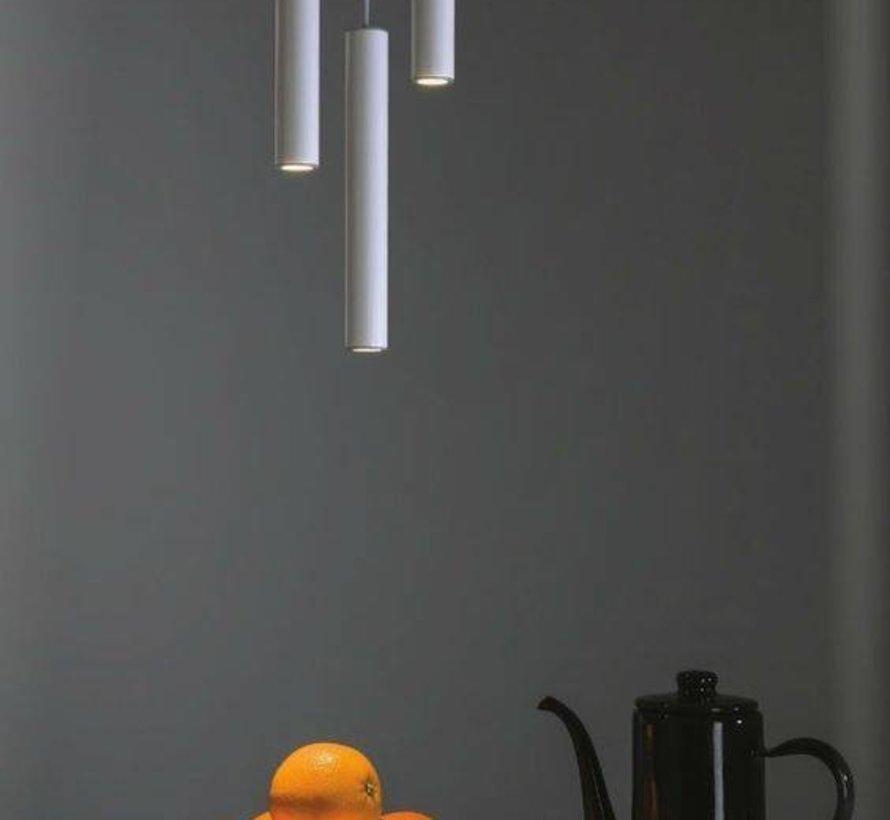 Hanglamp Elmont Tube Small Wit